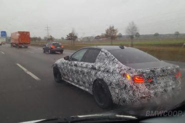 2018 F90 BMW M5 Caught In The Open 15