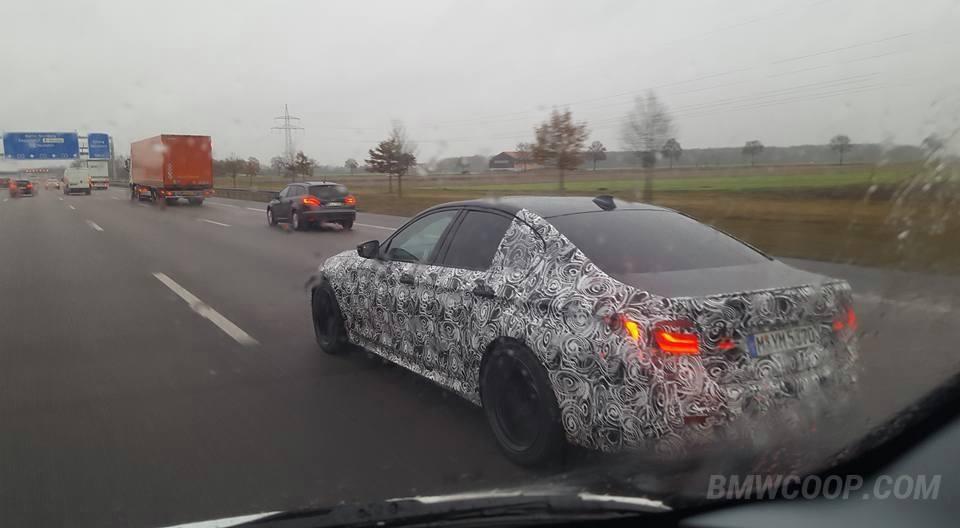 F90 BMW M5 Spied 7