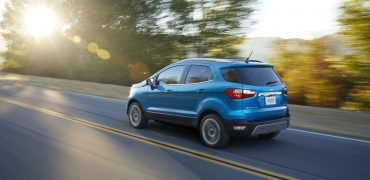 Equipped with either an award-winning, 1.0-liter three-cylinder turbocharged EcoBoost® engine or 2.0-liter four-cylinder with Intelligent 4WD, all-new Ford EcoSport provides power and control.