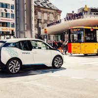 "The battery-powered i3 is the center of ambitious BMW initiatives such as ChargeNow and DriveNow, a car-sharing service that invites customers to ""find it, drive it, drop it."""