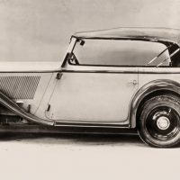 The 303, presented in 1933, was BMW's first six-cylinder car—though the initial engine's displacement was just 1,173cc.