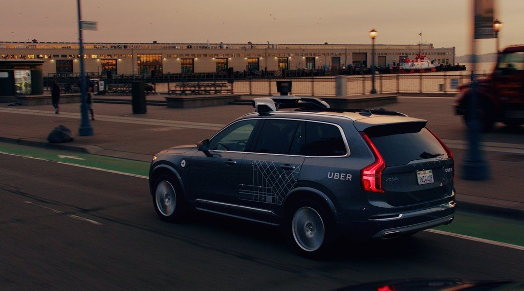 201683 Uber launches self driving pilot in San Francisco with Volvo Cars