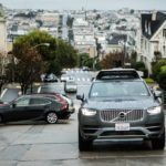 201688 Uber launches self driving pilot in San Francisco with Volvo Cars