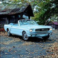 The most notable change for 1966 was a revised grille. Convertible production for 1966 was 72,119. Photo: Mike Mueller.