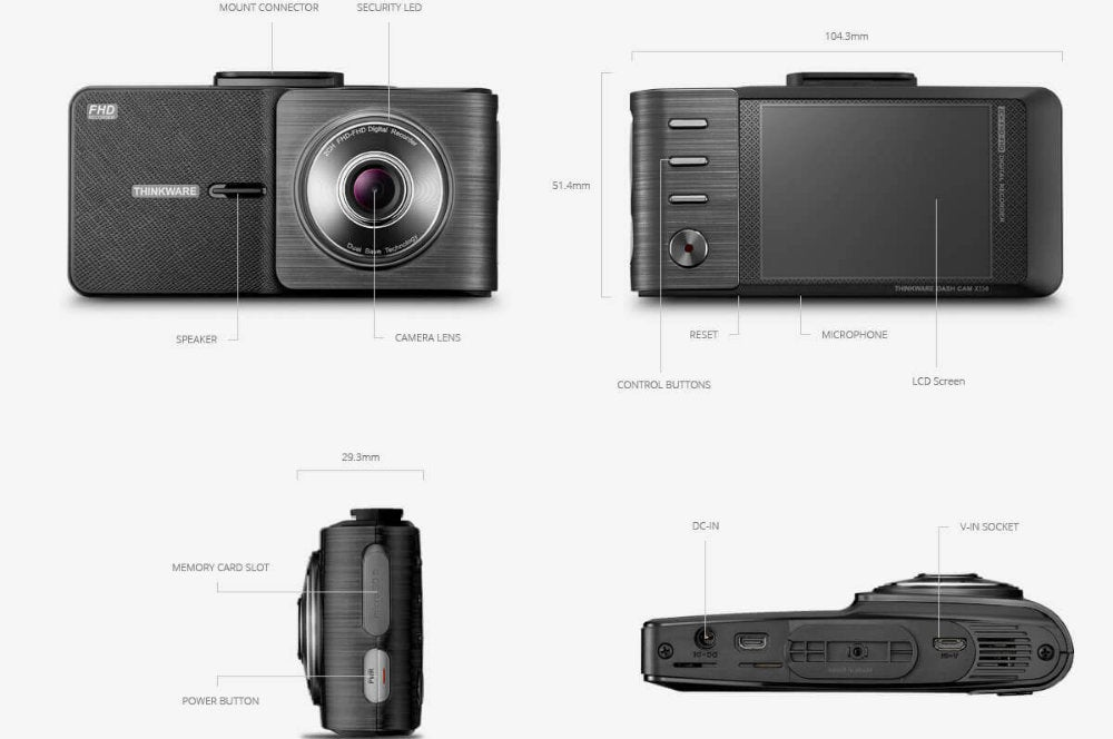 Thinkware X550 Dash Camera Review 17