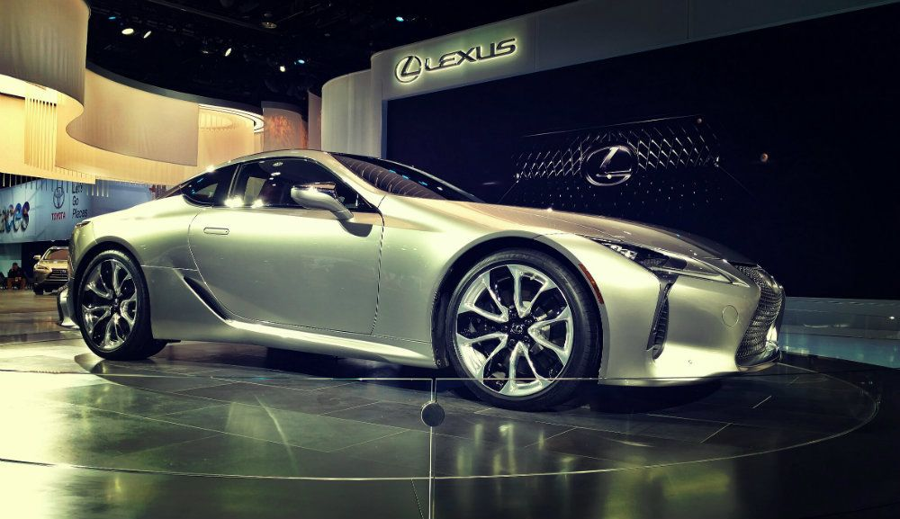 2018 Lexus LC - Top 5 Cars And Attractions At NAIAS