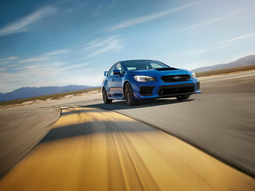 2018 Subaru WRX & WRX STI: Trophy Please