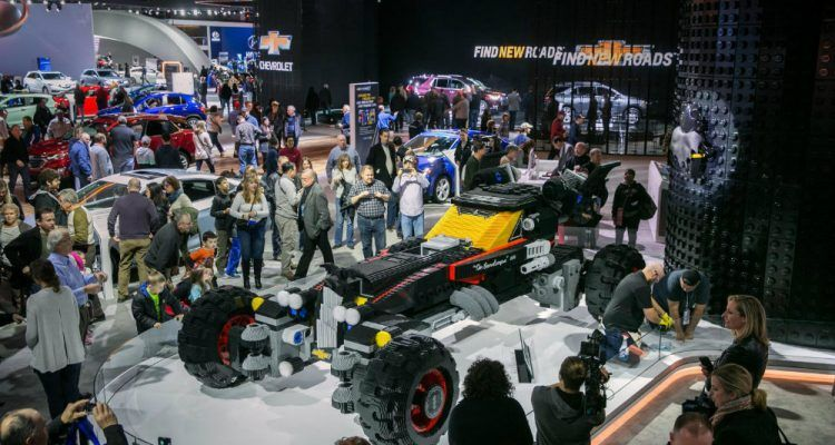 Chevy LEGO Batmobile 2 750x400 - Top 5 Cars And Attractions At NAIAS