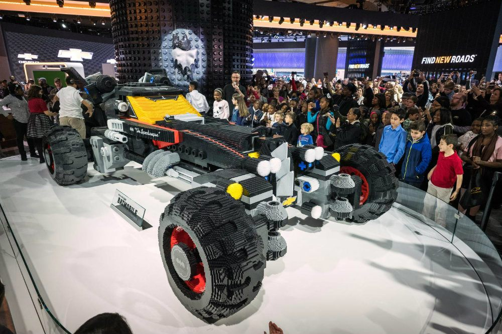 Chevy LEGO Batmobile - Top 5 Cars And Attractions At NAIAS