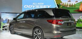 2018 Honda Odyssey Showcases New Features In Detroit