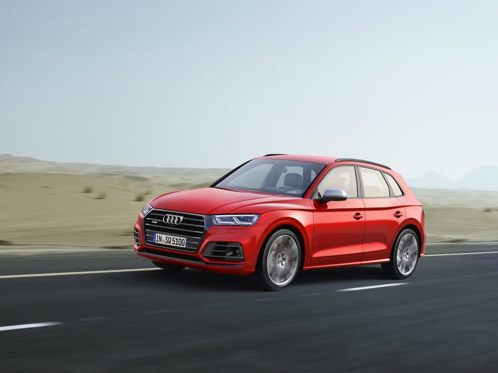 2018 Audi SQ5 Makes World Debut At NAIAS