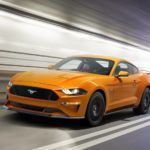 New Ford Mustang V8 GT with Performace Pack in Orange Fury 1