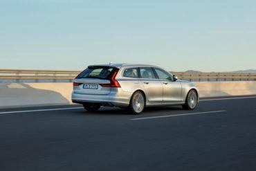 191758 New Volvo V90 location driving