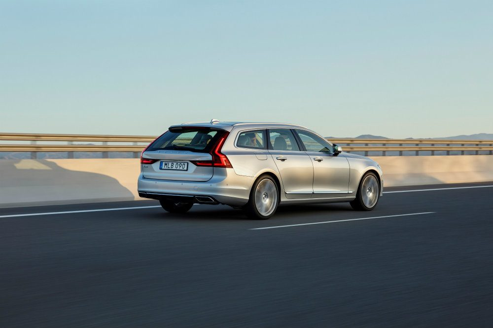 Volvo V90: Personalized, Pretty & Powerful