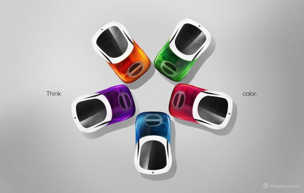 3 iCar iMac G3 view