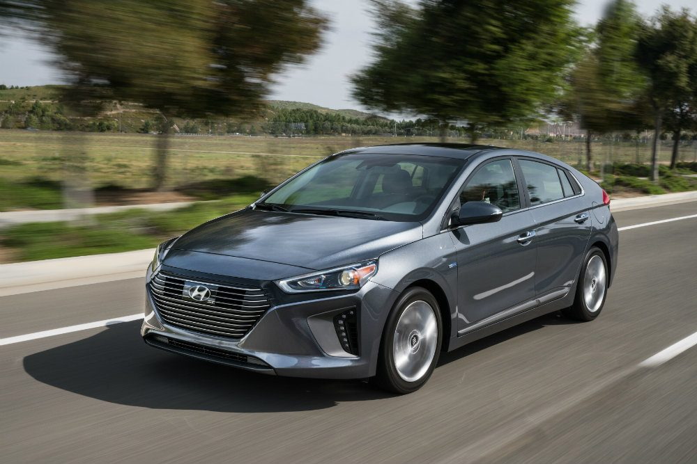 2017 Hyundai Ioniq Hybrid & Electric Models Soon To Hit America