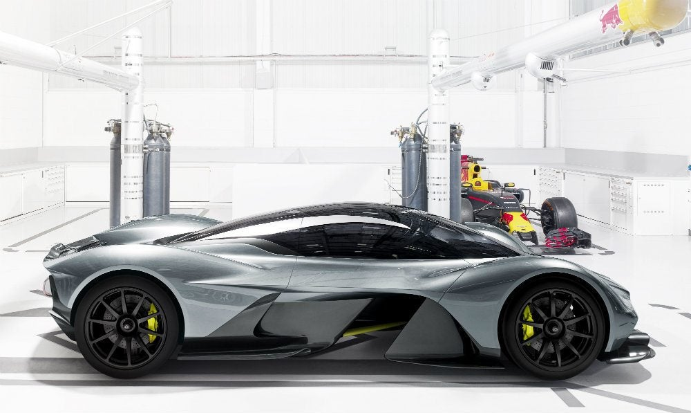 Aston Martin AM-RB 001: Airflow, Energy & Art