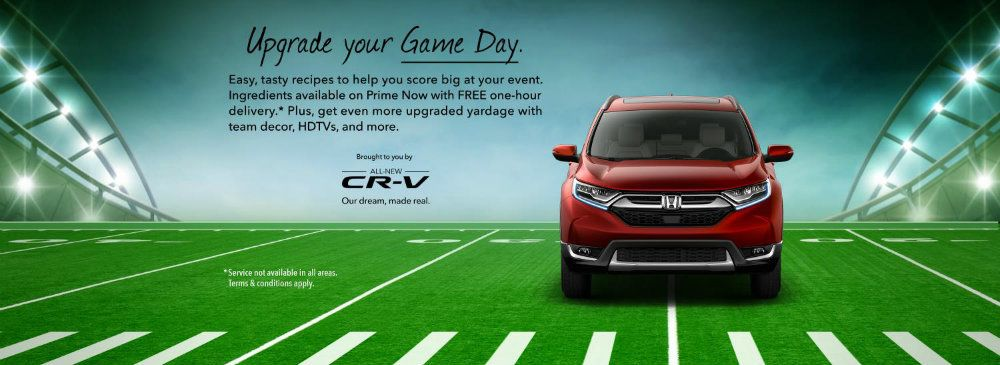 Honda Serving Up Food For Super Bowl Weekend