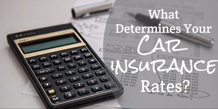 Popular The Most Important Factors That Determine Car Insurance Rates