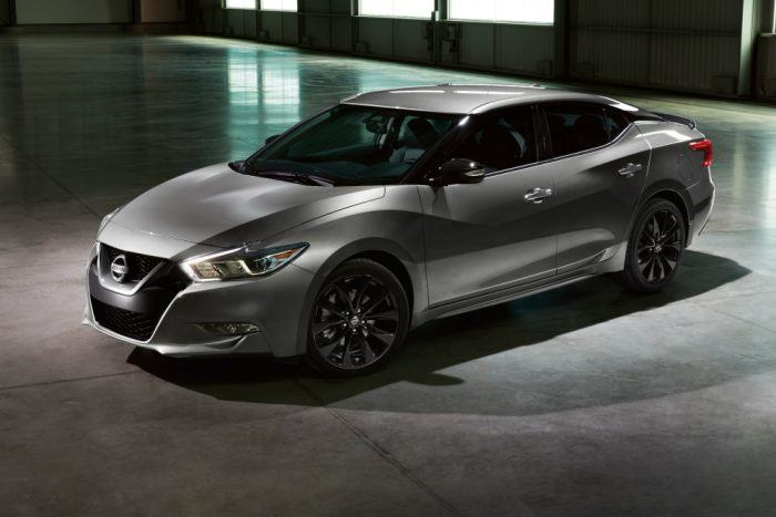 Embargoed until Feb 8 at 630 pm ET 2017 Nissan Maxima SR Midnight Edition