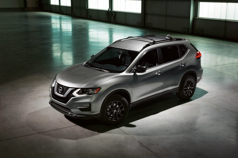 Embargoed until Feb 8 at 630 pm ET 2017 Nissan Rogue Midnight Edition