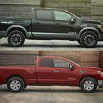 Embargoed until Feb 9 at 1130am ET 2017 TITAN King Cab Crew Cab comparo