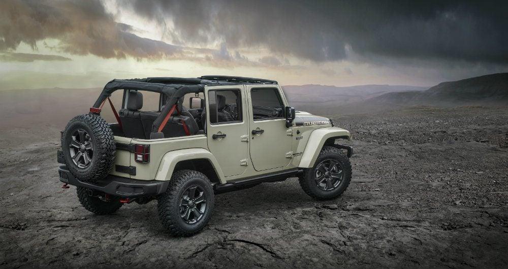 Jeep 4x4 2017 >> 2017 Jeep Wrangler Unlimited Rubicon Recon: The 4X4 Benchmark