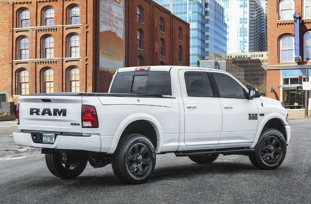 Ram Heavy Duty Night Editions Debut In The Windy City