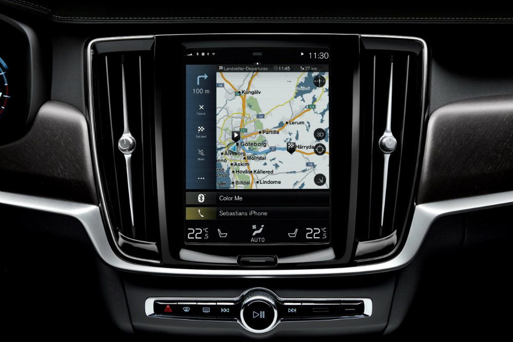 206693 Updated Sensus Navigation in V90 Cross Country