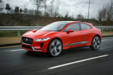 Jaguar I-PACE Debuts On London Streets 25