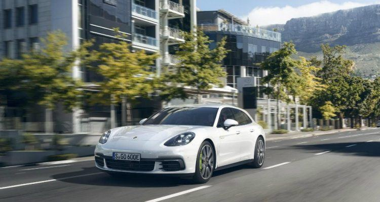 Porsche Panamera 4 E Hybrid Sport Turismo front three quarter 750x400 - 2018 Porsche Panamera Turbo S E-Hybrid: Kinda Ugly But Really Powerful