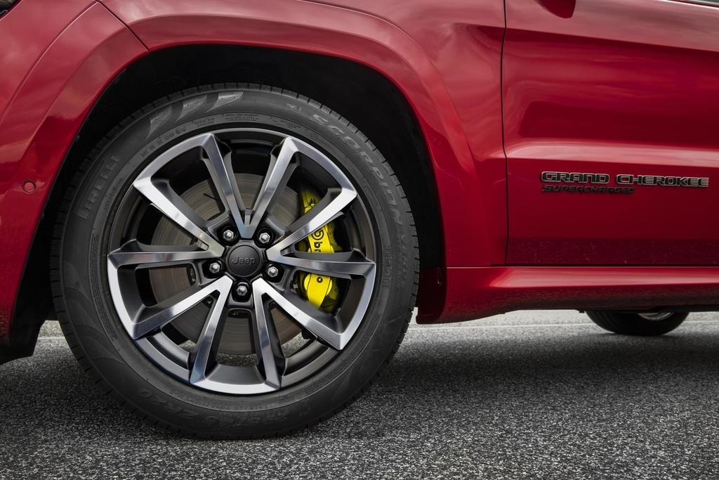 Inside The Brembo Brakes On The Jeep Grand Cherokee Trackhawk Dodge Challenger Srt Demon