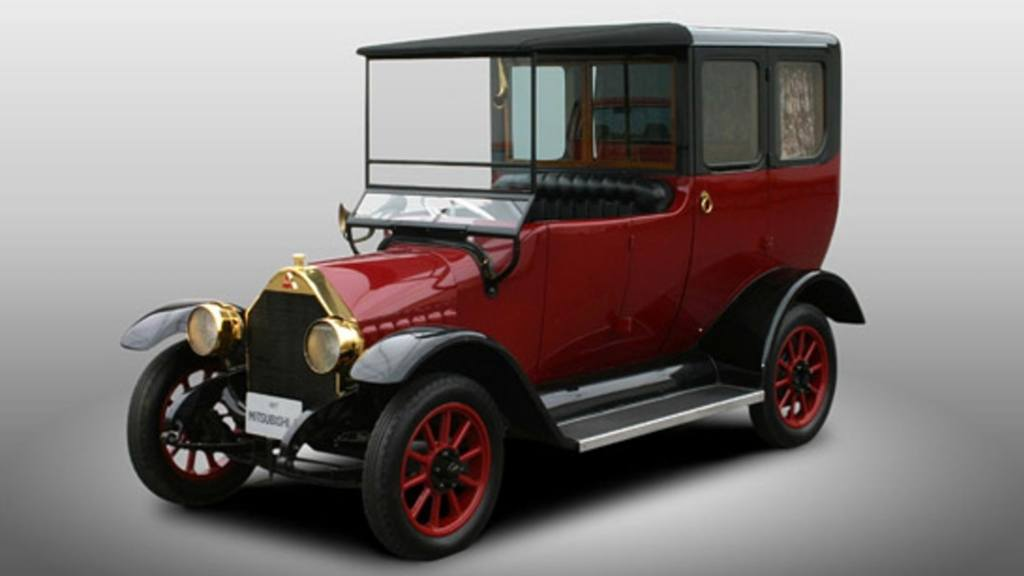 1917 Mitsubishi Model A Being Built By West Coast Customs