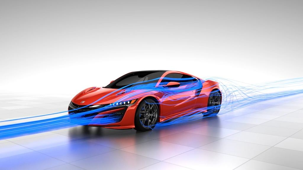 NSX Total Airflow Side