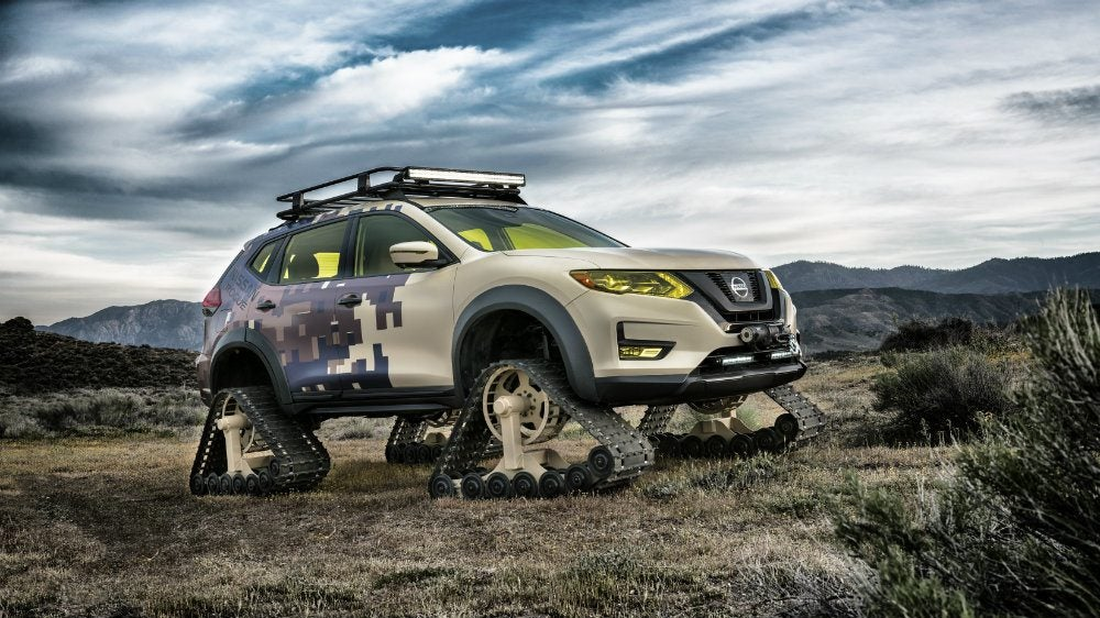 Nissan Rogue Trail Warrior Project 2 - Nissan Rogue Trail Warrior Project: Oh. My. Word.
