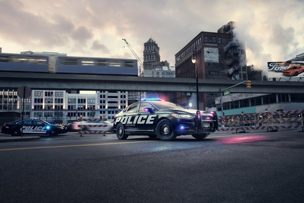Police Responder Hybrid Sedan 1
