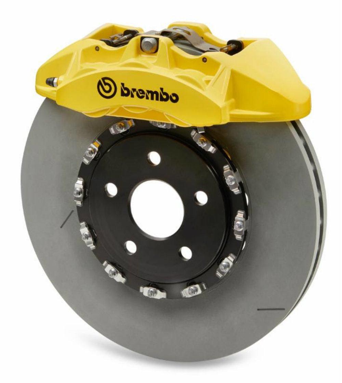 Brembo Brake Pads >> Inside The Brembo Brakes On The Jeep Grand Cherokee Trackhawk & Dodge Challenger SRT Demon