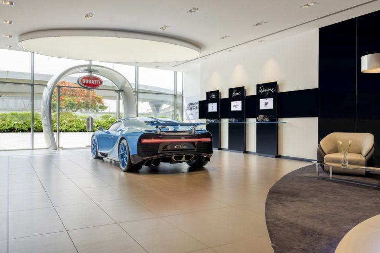 02 Showroom Bugatti UAE Dubai