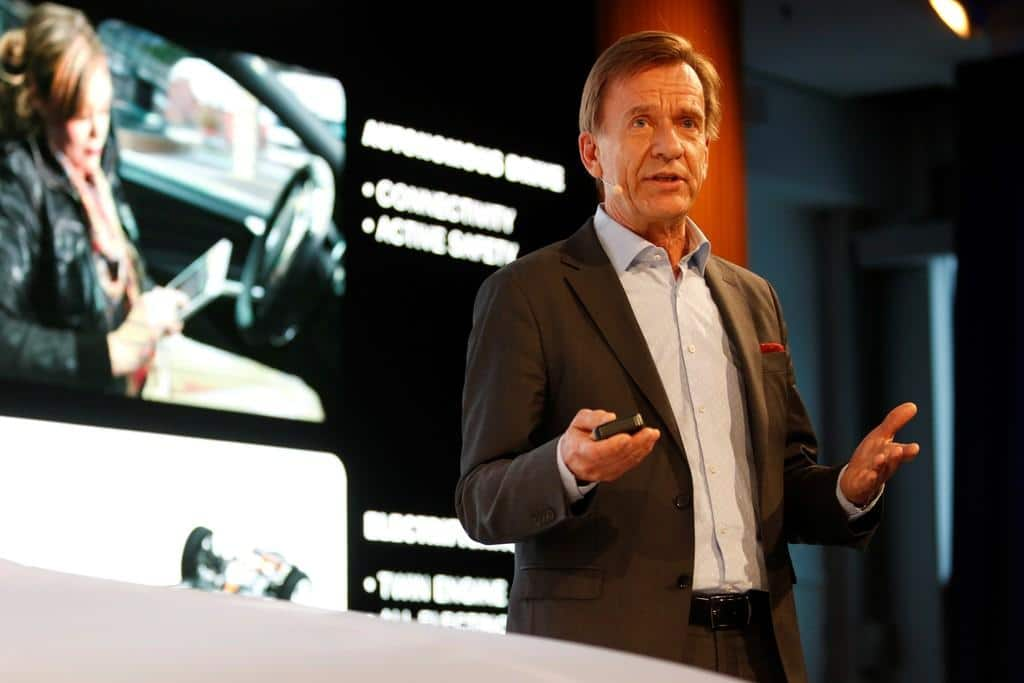 Volvo Cars CEO Håkan Samuelsson Urging Change, Sustainability
