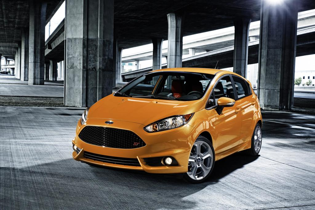 2017 Ford Fiesta ST. Photo Ford Motor Company. & Ford Attracting Younger More Affluent Buyers With Sporty Cars markmcfarlin.com