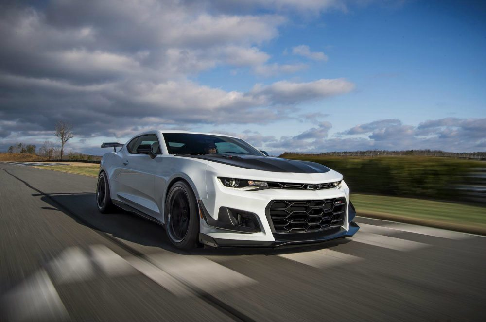 2018 Chevy Camaro ZL1 1LE Tops Forthcoming Lineup