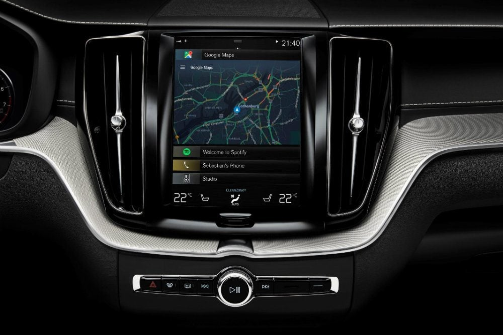 208087 Volvo with Android OS and Google services