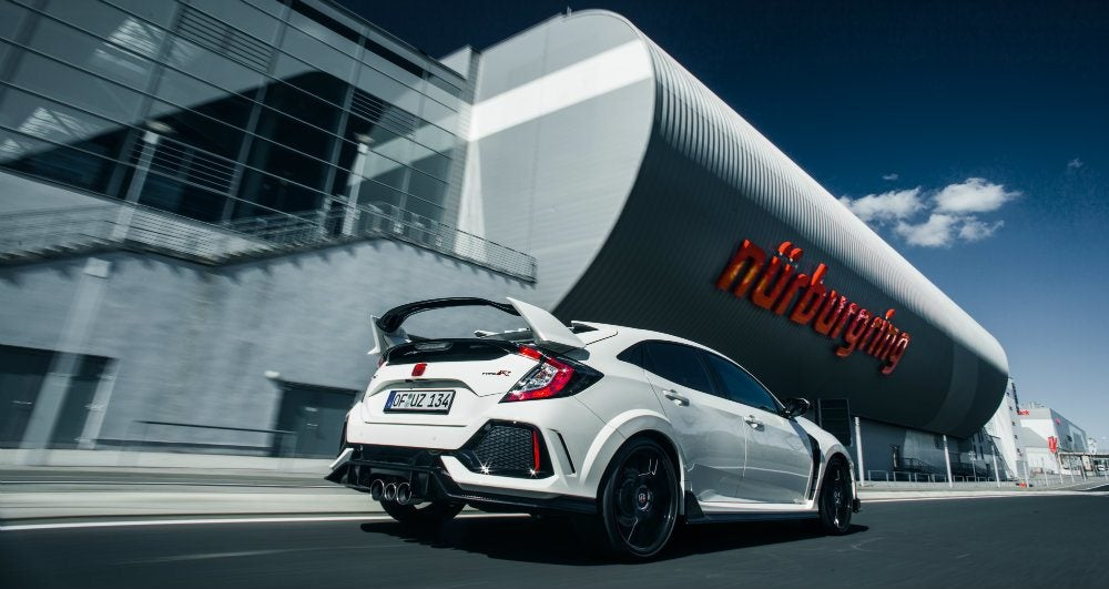 2017 Honda Civic Type R Sets Nürburgring Lap Record