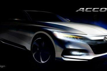 2018 Honda Accord Concept Sketch