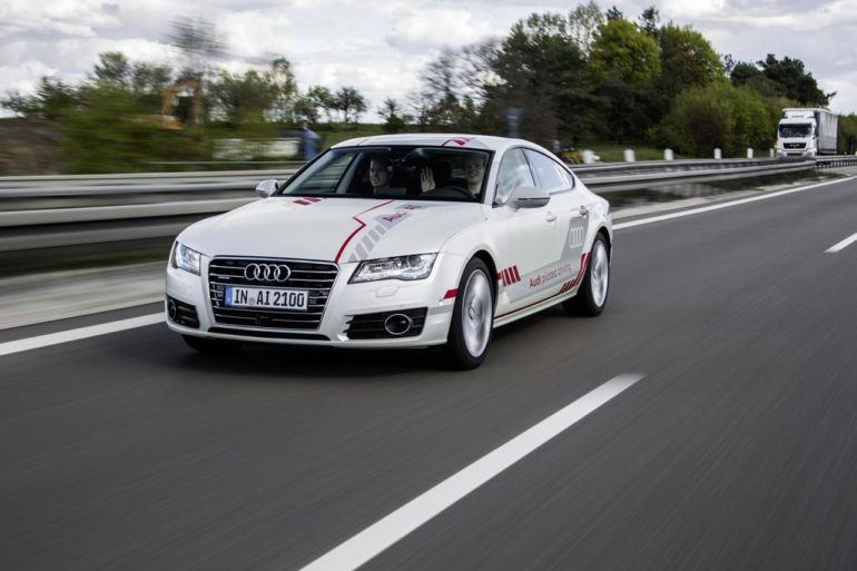 Audi Demonstrates Piloted Driving Technology In New York 26