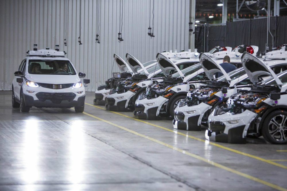 General Motors Assembles First Round of Driverless Test Vehicles