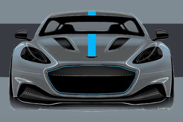 Aston Martin Confirms First All-Electric Vehicle With RapidE 23
