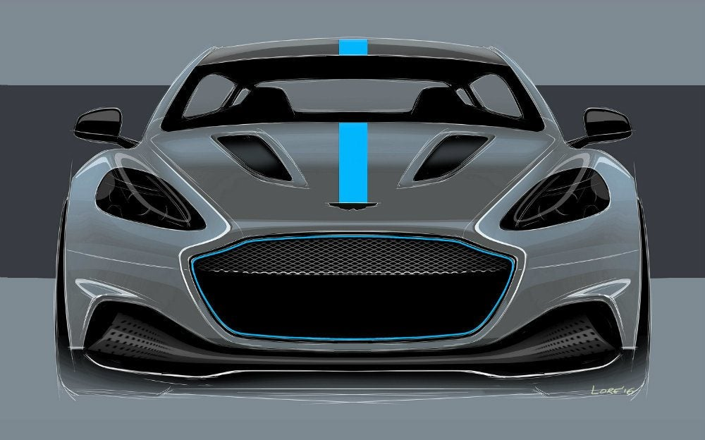 Aston Martin Confirms First All-Electric Vehicle With RapidE