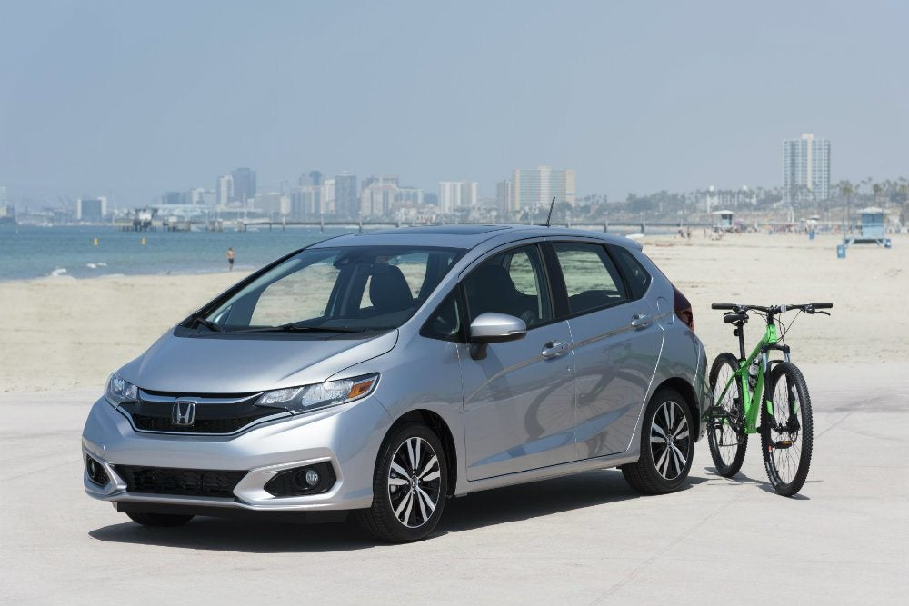 2018 Honda Fit Reporting For Duty