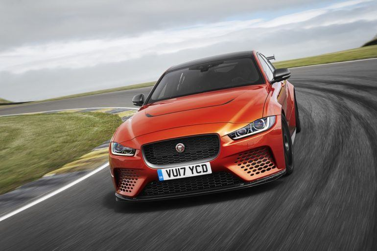 Jaguar XE SV Project 8 Tackles The Nürburgring Nordschleife 17